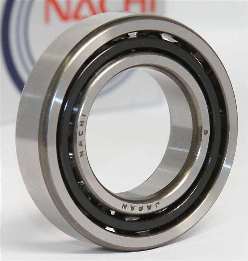 BAIJIAXIUSHANG 7001 AC Angular Contact Bearing 12X28X8 mm Spindle Bearings CNC P0 ABEC-1 25 Contact Angle Ball Bearings 2Pcs 7001AC Precision Bearings