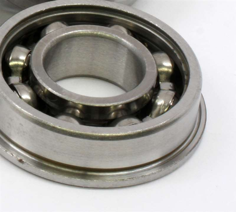 F flanged bearing open miniature